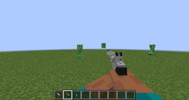 скачать мод на 3д оружие для minecraft 1 11 2