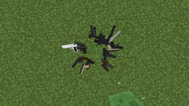 Скачать мод на оружие (Modern Warfare) для Майнкрафт 1.11.2 - 1.7.10