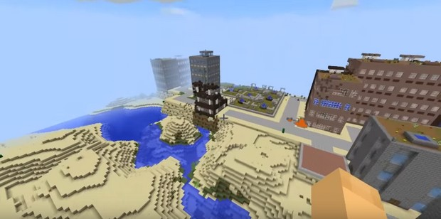 Minecraft мод 1.11.2 (The Lost Cities)
