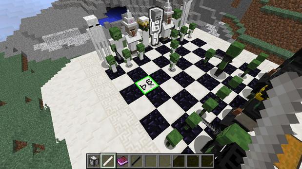 Скачать мод на шахматы для Майнкрафт 1.11.2