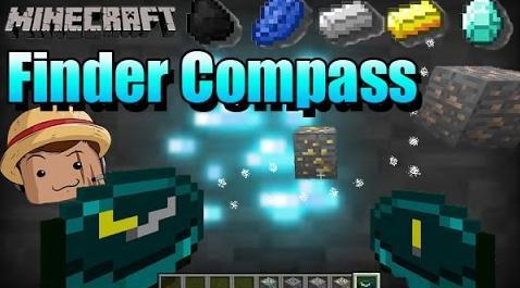 Скачать мод на компас для Minecraft 1.12.1