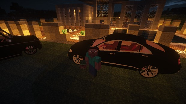 Скачать мод на машины для Minecraft 1.7.10 - Alcara Mod