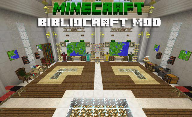 Мод BiblioCraft для Майнкрафт 1.7.10/1.7.2/1.6.4