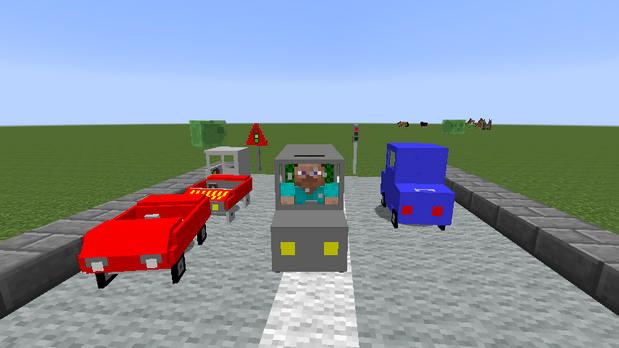 Скачать мод на машины (Car and Drivers) для Майнкрафт 1.7.10 - 1.8