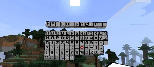 Fexs Alphabet and More для Minecraft 1.7.10