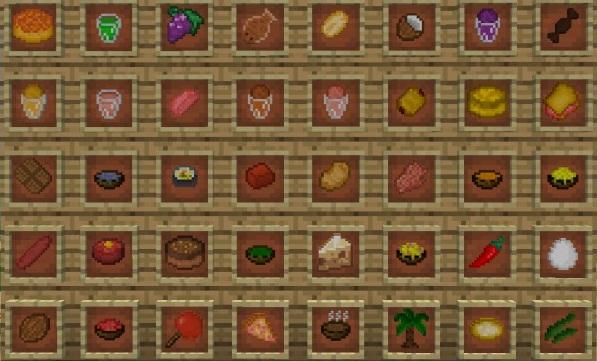 Скачать мод Lots of Food для Minecraft 1.7.10