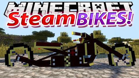 Скачать мод Steam Bikes для Майнкрафт 1.7.10