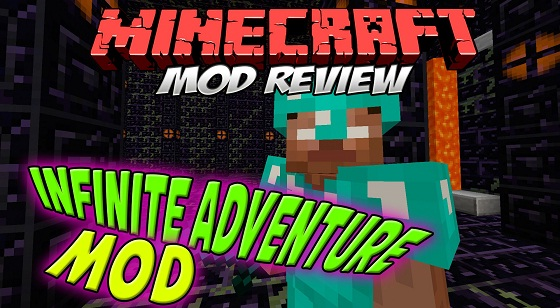 Скачать мод The Infinite Adventure для Minecraft 1.7.10