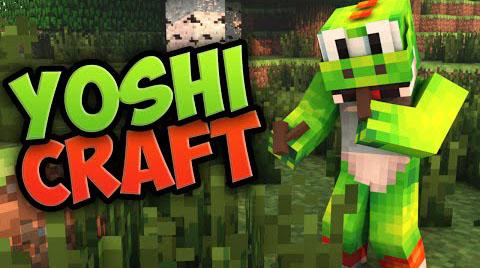 Скачать мод для Майнкрафт 1.7.10 / YoshiCraft