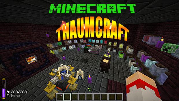 Скачиваем мод Thaumcraft на магию для Майнкрафт 1.8.9
