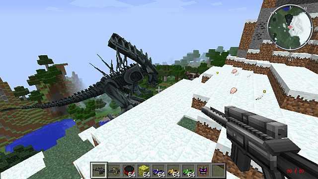 скачать мод на супер оружие для minecraft 1 7 10