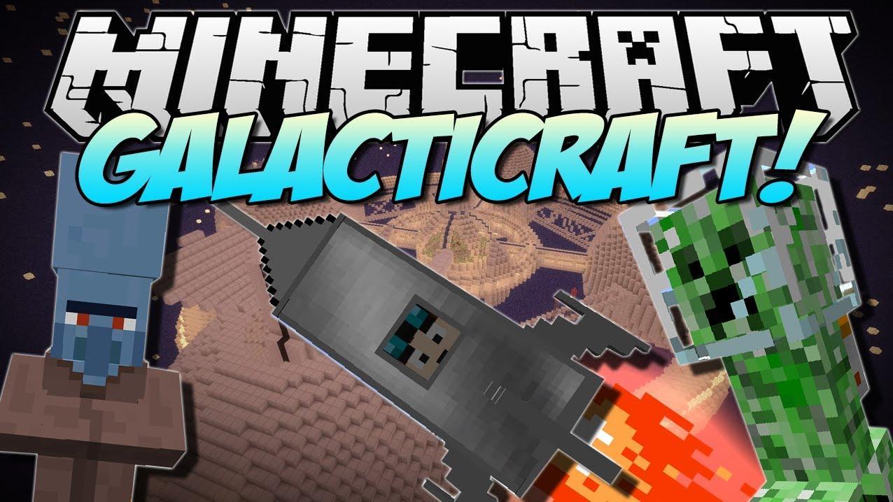 Видео Майнкрафт инструкция как заправить ракету для мода Galacticraft