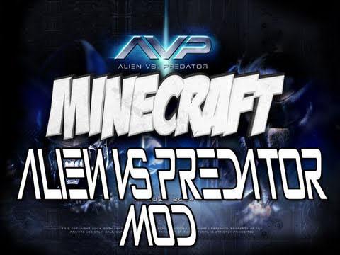 Мод для Minecraft 1.5.2 / Aliens vs Predator / Скачать бесплатно