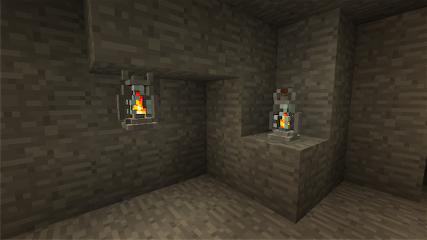 Мод для Minecraft 1.5.2 - 1.6 / Светящиеся лампа
