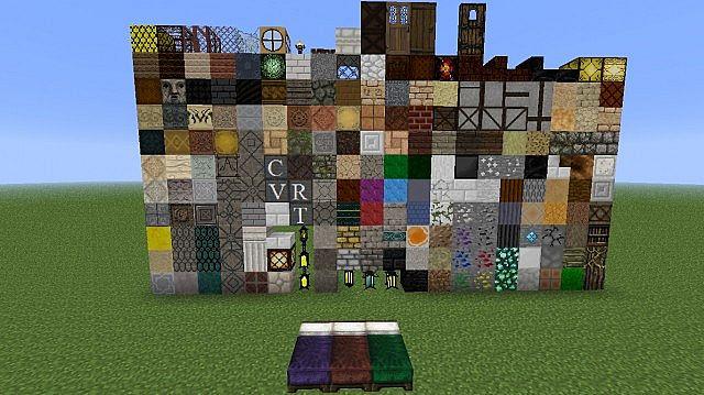 Мод - Новые блоки, предметы в игре Майнкрафт