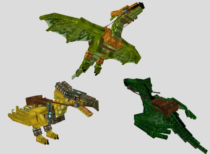 Драконы / Minecraft мод 1.5.2