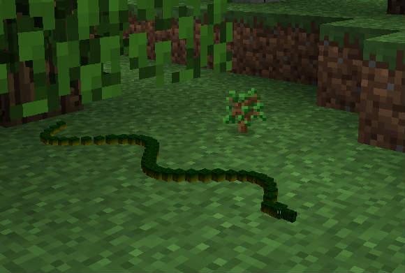 Minecraft mod 1.5.2 / Змеи