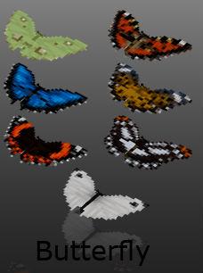 Бабочки / Mod Миникрафт 1.5.2 / Еще больше новых животных