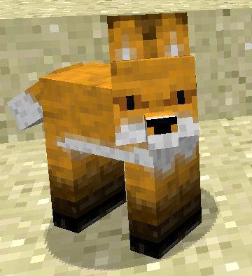 Лиса / Скачать Minecraft мод бесплатно