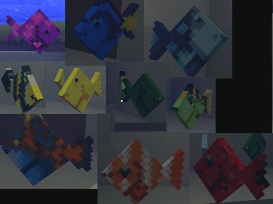Рыбы / Minecraft мод 1.5.2