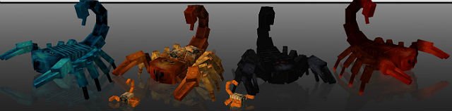 Скорпионы / Minecraft мод 1.5.2