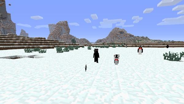Скачать мод для Minecraft 1.5.2 / Пингвины