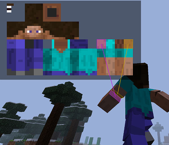 Мод для Minecraft 1.5.2 / Анимация игрока