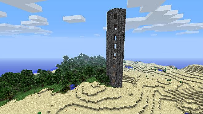 Мод для Minecraft 1.5.2 / Башня
