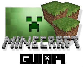 GUI API для Minecraft 1.5.2 / Скачать бесплатно