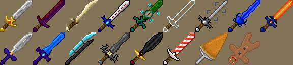 Скачать мод для Майнкрафт 1.5.2 и 1.6 / Новые мечи для Minecraft