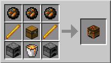 Скачать мод Minecraft 1.5.2 - Сундук для переплавки предметов