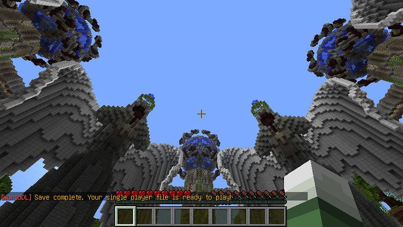 Сохранить карту с сервера на компьютер / Мод для Minecraft 1.5.2