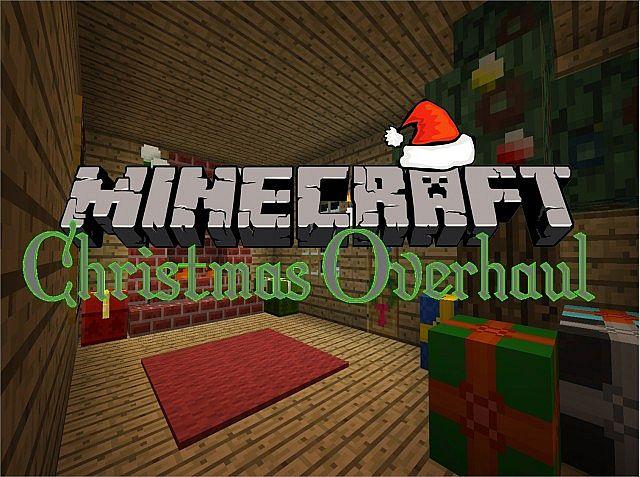 Скачать бесплатно рождественские текстуры для Майнкрафт 1.8.х