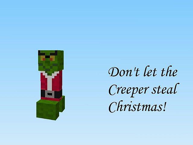 Скачать новогодние текстуры для Minecraft 1.8+