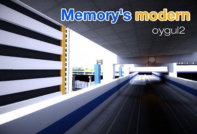 Скачать текстуры для Майнкрафт 1.8 - Memorys Modern