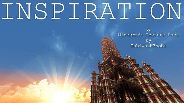 Скачать бесплатно текстур пак для Майнкрафт 1.5.2 / Inspiration