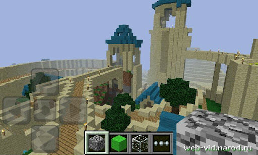 Скачать бесплатно Minecraft для мобильных телефон Android или Xperia Play