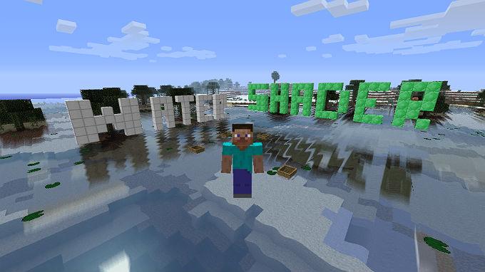 Шейдеры для воды / Minecraft 1.6.2