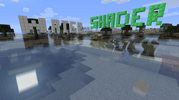Скачать шейдеры для улучщения качества воды / Minecraft 1.6.2